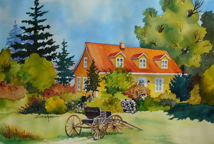 Online art gallery featuring the artist anik dubaere s - Maison d artiste a visiter ...