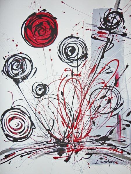 Acryliques sur toiles modernes design et contemporain de l artiste peintre a - Toiles modernes design ...