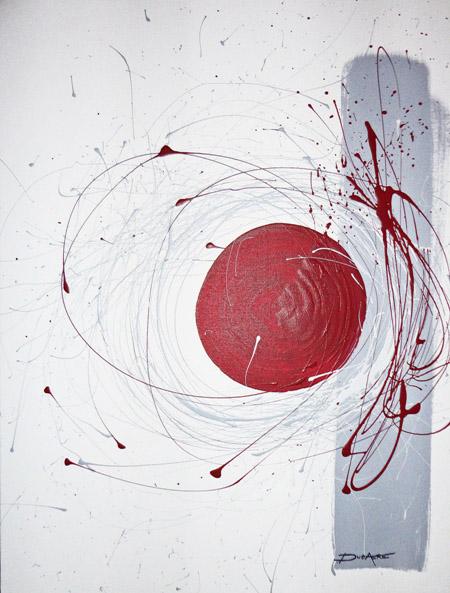 Acrylique sur toile originale moderne et contemporain embryon for Peinture acrylique sur toile moderne