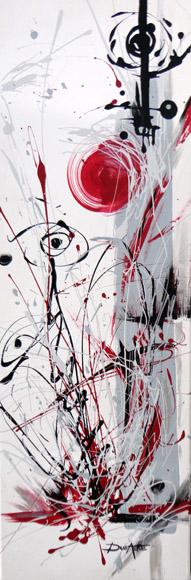 Acrylique sur toile originale moderne et contemporain efferverscence q - Toiles modernes design ...